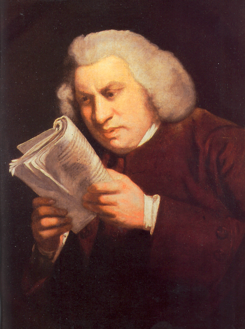 Joshua Reynolds, Samuel Johnson