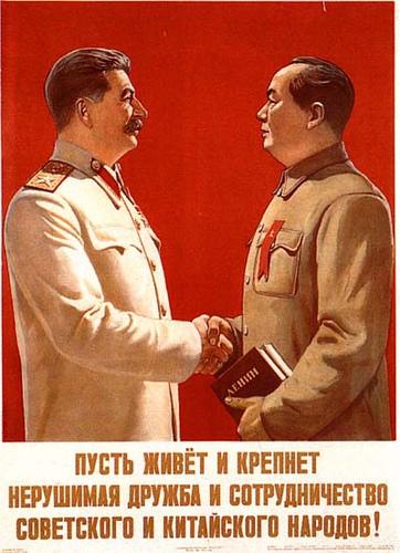 Stalin e Mao
